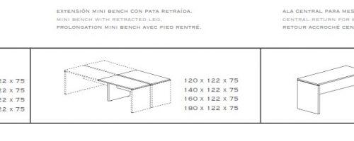 Mesa Bench new pano medidas