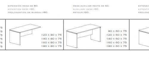 Mesa rectangular new pano medidas